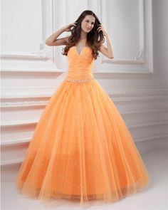 osell wholesale dropship Tulle Beading Pleated Applique Strapless Floor Length Quinceanera Dresses $111.20