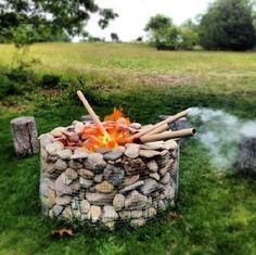 Gabions are a great, simple, quick way to add a sturdy stone structure without using mortar. Made of sturdy wire and stacked stones, they are an extremely practical way to create structures on your homestead.Gabions give a personal touch while providing a very practical function. For example, check out this cool fire pit that everyone will admire.And imagine the compliments you will get when you add this to your backyard entertaining possibilities.It really is impressive what can be designed…