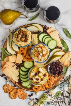 This Hummus Charcuterie Board is easy to throw together with three great spins on hummus. It's something your party guests will keep coming back to! Cheese Appetizers, Appetizer Recipes, Pizza Recipes, Potato Recipes, Casserole Recipes, Soup Recipes, Homemade Spaghetti Sauce, Cucumber Recipes, Drink