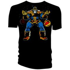 Marvel Official Licensed Quality T-Shirt THANOS TS XL Old price £14.99 £11.99