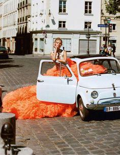 Duchess Dior: Magdalena Frackowiak by Matt Jones for ELLE Italia January 2016