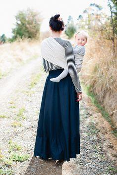 Sling! Pra vc e seu bebê, que merece toda sua companhia! :)
