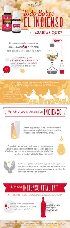 Spanish Frankincense Infographic