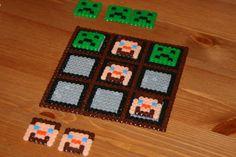 Tic-tac-toe v štýle Minecraft.