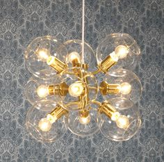 pholc Tage Mässing by Designfirman Gamla Stan Interior Lighting, Pendant Lamp, Light Fixtures, Light Bulb, Ceiling Lights, Interior Design, Home Decor, Chandeliers, Lightning