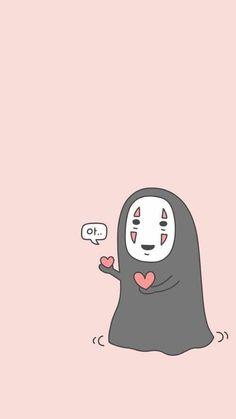Image about pink in ♥Studio Ghibli♥ by Kika on We Heart It Totoro, Animes Wallpapers, Cute Wallpapers, Kawaii Drawings, Cute Drawings, Aesthetic Iphone Wallpaper, Aesthetic Wallpapers, Studio Ghibli Art, Ghibli Movies