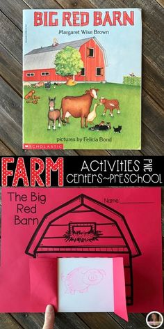 Farm Activities were created with preschool in mind. This unit would also work well in a kindergarten classroom. The boys and girls will learn important math, literacy and book comprehension concepts, strategies and skills through book/fact centered lesso Farm Lessons, Lessons For Kids, Kindergarten Lesson Plans, Preschool Lesson Plans, Farm Animals Preschool, Preschool Art Projects, Preschool Ideas, Toddler Teacher, Farm Activities