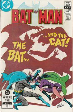 Batman Vol. 44 No. 355 1983 by TheSamAntics on Etsy