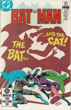 Batman Vol. 44 No. 355  1983 by TheSamAntics on Etsy  DC Comic Book modern era covers  Batman Dark Knight  Gotham New 52
