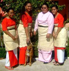 Tongan clothing culture is conservate, to say the least. Woman must cover there knees and elbows and men are usually dressed in pants or Tupenu (cloth wrap skirt) and don't show there knees either.