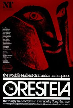 Oresteia, The -- 1981 -- High quality art prints, framed prints, canvases -- National Theatre Posters
