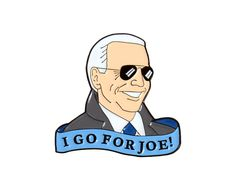 I go for Joe Biden enamel lapel pin - kate gabrielle