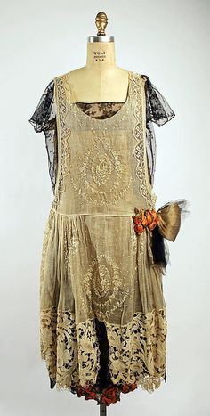Dress  Boué Soeurs, 1920-1925  The Metropolitan Museum of Art