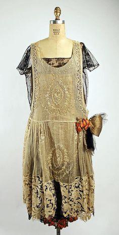 Dress  Boué Soeurs, 1920-1925  The Metropolitan Museum of Art