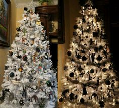 Nightmare Before Christmas Tree by Greg Horn Art