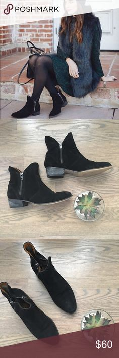 Seyshelles ankle boots Style is Lucky Penny ankle black boots.Great shape. Anthropologie Shoes Ankle Boots & Booties