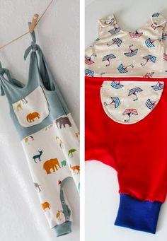Instructions and patterns for many different playsuits including detailed sewing tutorials via Makerist. Baby Clothes Patterns, Baby Patterns, Sewing Patterns, Baby Dress Tutorials, Sewing Tutorials, Love Sewing, Sewing For Kids, Romper Tutorial, Diy Mode