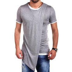 Asian Size XXL Men's Summer Dress Clothing Male Hip Hop O-neck Streetwear T Shirt Homme Short Sleeve Sportswear Tops Tee Men