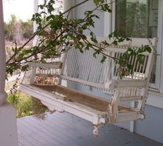 Vintage Front Porch Swing