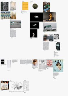 A0 sized posters from a blog that no longer exists- via Field Process