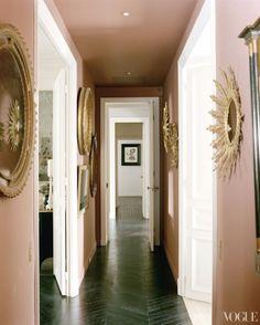 love the floor & mirrors