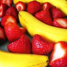 Strawberry Banana Baby Food Recipe - Baby Food Recipes