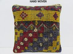 kilim pillow inbred kilim cushion cover by DECOLICKILIMPILLOWS