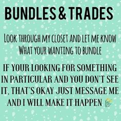 Shop/trade my closet!  I have lots of gently used clothes and I still haven't put a lot up but I can make it happen ! Let me know what you like comment and I'll have it up  happy posh shopping please like and share love you all . Other