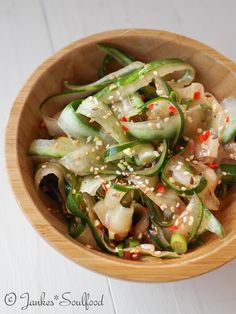 Asiatischer Gurkensalat - Jankes Soulfood You are in the right place about Asian Recipes salmon Here Hamburger Meat Recipes, Steak Recipes, Grilling Recipes, Fish Recipes, Asian Recipes, Appetizer Recipes, Chicken Recipes, Cake Recipes, Ethnic Recipes