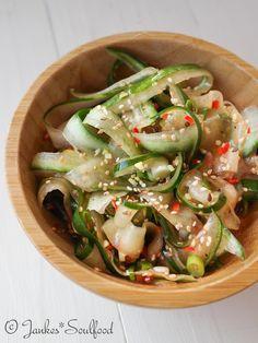 Asiatischer Gurkensalat - Jankes Soulfood
