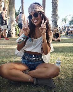 Tess Christine - Coachella style
