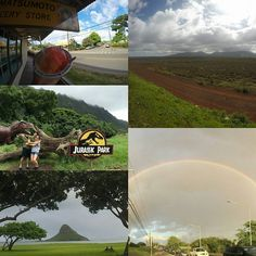 The Disney Aulani Resort and Spa is a short drive or shuttle ride to the rest of the island. We got shaved ice at North Shore, saw the Dole pineapple fields, Chinaman's hat ... Even caught a rainbow. Next stop ... Pearl Harbor. #GrahamInTheMornings #GoCountry105 #Disney #disneyaulani #countrytakingovertheisland