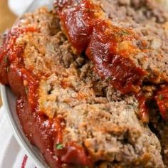 Brown Gravy Meatloaf The BEST Meatloaf Recipe Ever! Glazed Brown Sugar Meatloaf Dinner Then Dessert. This Bacon Wrapped Meatloaf Recipe Will Have Everyone . Home and Family Classic Meatloaf Recipe, Good Meatloaf Recipe, Meat Loaf Recipe Easy, Best Meatloaf, Meatloaf Recipes, Beef Recipes, Soup Recipes, Cooking Recipes, Dinner Recipes