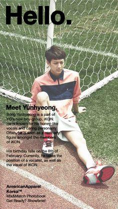 """"""" Meet iKON's Song Yunhyeong! """""""