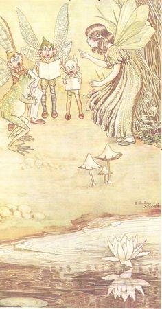 Ida Rentoul Outhwaite ❤•♥.•:*´¨`*:•♥•❤ Fairies.