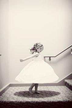 A lovely flower girl // #weddingphotographerminneapolis #minnesotawedding Photo by Angela.