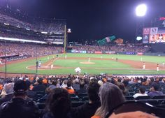Another game at AT&T Park, home of the San Francisco Giants #baseball team! #sports #TheGiants