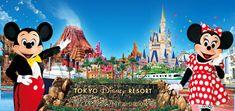 Tokyo Disney Resort ~ Took Dani & Auntie Tara when Dani was two.  Fun  in Japan!