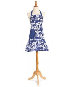 Look at this #zulilyfind! Blue Willow Girlie Apron - Adult #zulilyfinds