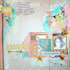 I {lowe} SCRAP :: 'Tis The Season' & 'Summer Dreamer' :: by Judy Scrap