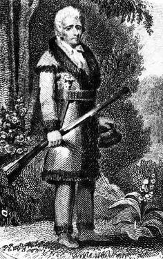 Daniel Boone – he led his family and other settlers across the Mississippi River into land populated by Native Americans later became known as Missouri. Types Of Hats, The Lone Ranger, American Frontier, St Louis Cardinals, Mountain Man, American Revolution, Old West, Historical Society, Historical Photos