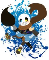 Ink!Sans by Aer0Hail I really like this one, I don't know why