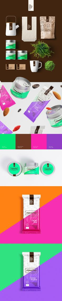 RAWCHA #brand #branding #marca #swt #packaging #embalagem #illustration