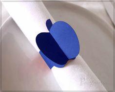 Apple Table Decor, Paper Napkin Rings, Rosh Hashanah Table Decor, Fall Decor…