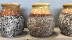 French olive jars in size as each piece is hand made. Olive Jar, Urn, Vase, Handmade, France, Garden, Home Decor, Homemade Home Decor, Hand Made