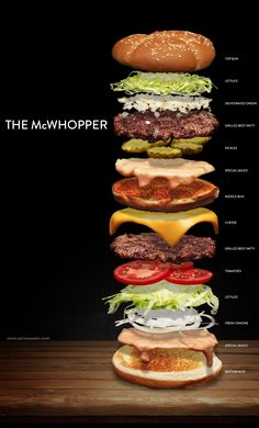 How to build a hybrid Big Mac and Whopper sandwich with fresh ingredients from scratch!
