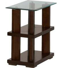 165 24,24,14Delfino Burnished Cherry Chairside Table
