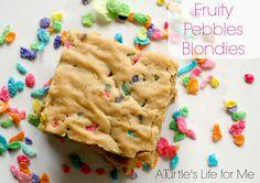 Fruity Pebbles Blondies