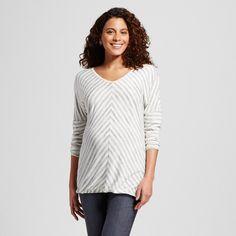 Maternity Striped Long Sleeve - Liz Lange for Target : Target