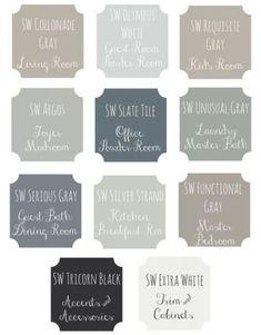 Ideas apartment living room themes colour schemes for 2019 Paint Color Schemes, House Color Schemes, House Colors, Interior Paint Colors, Paint Colors For Home, Interior Design, Interior Painting, Interior Shop, Interior Ideas